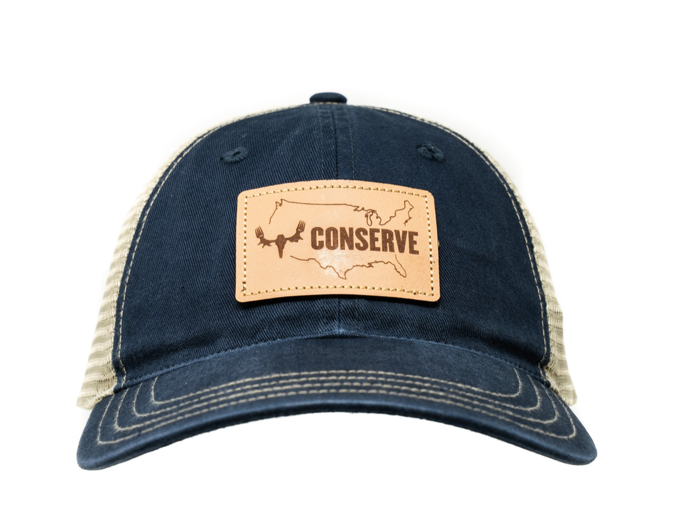 Conserve Unstructured Trucker - Navy