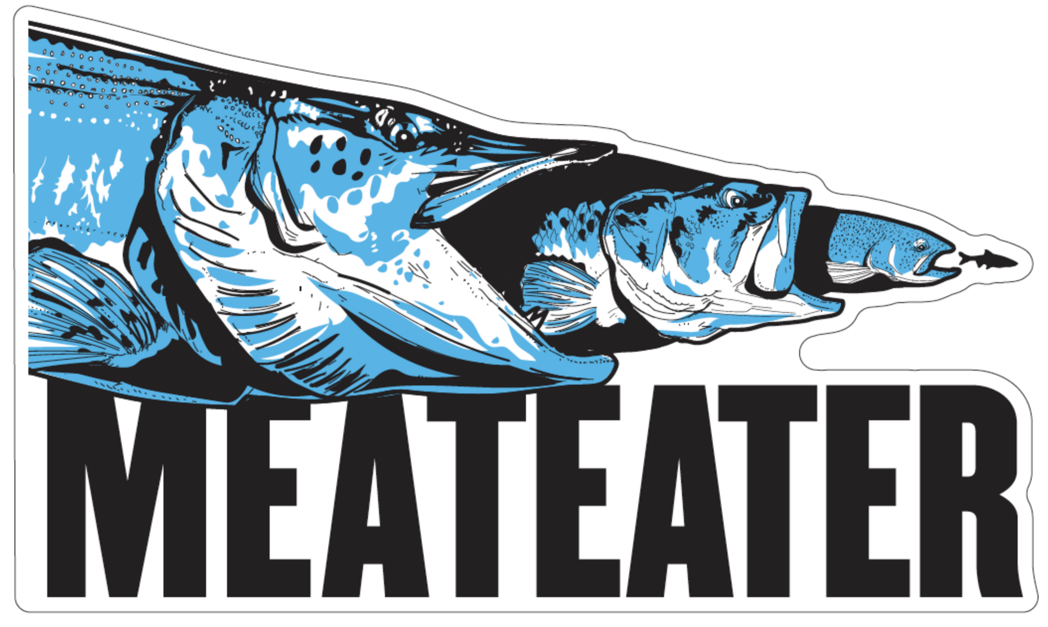 MeatEater Fish Sticker