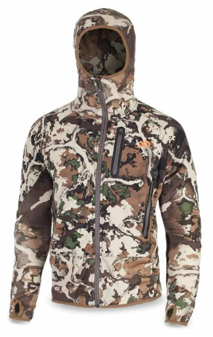 First Lite Men's Sawtooth Hybrid Jacket in Fusion