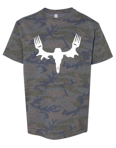 Youth MeatEater Camo Tee