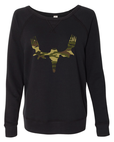 Ladies MeatEater Crewneck Sweatshirt