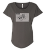 Ladies Sabertooth Cat T-Shirt