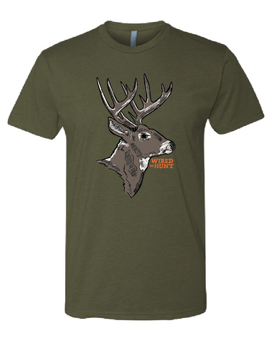 Wired to Hunt Whitetail Tee
