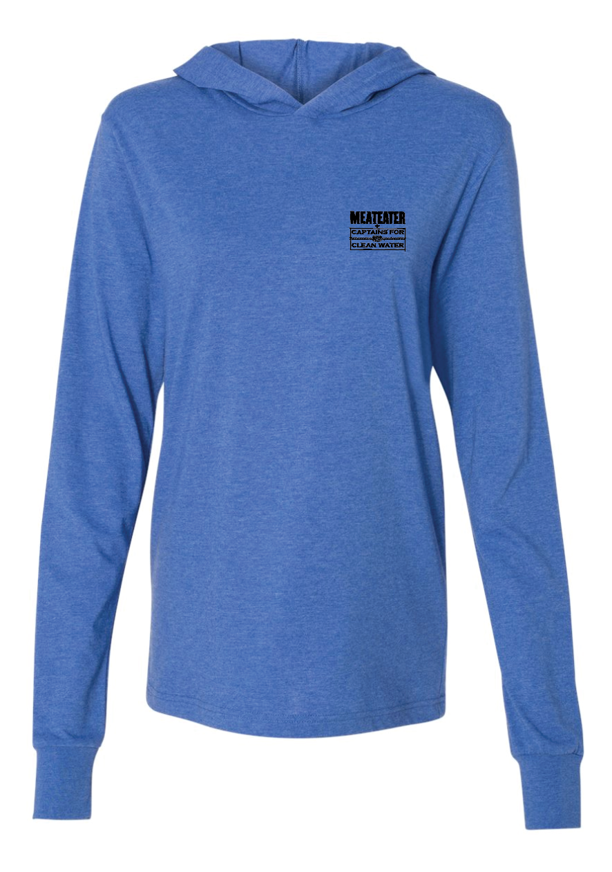 Tarpon LS Hooded Shirt: Captains for Clean Water x MeatEater