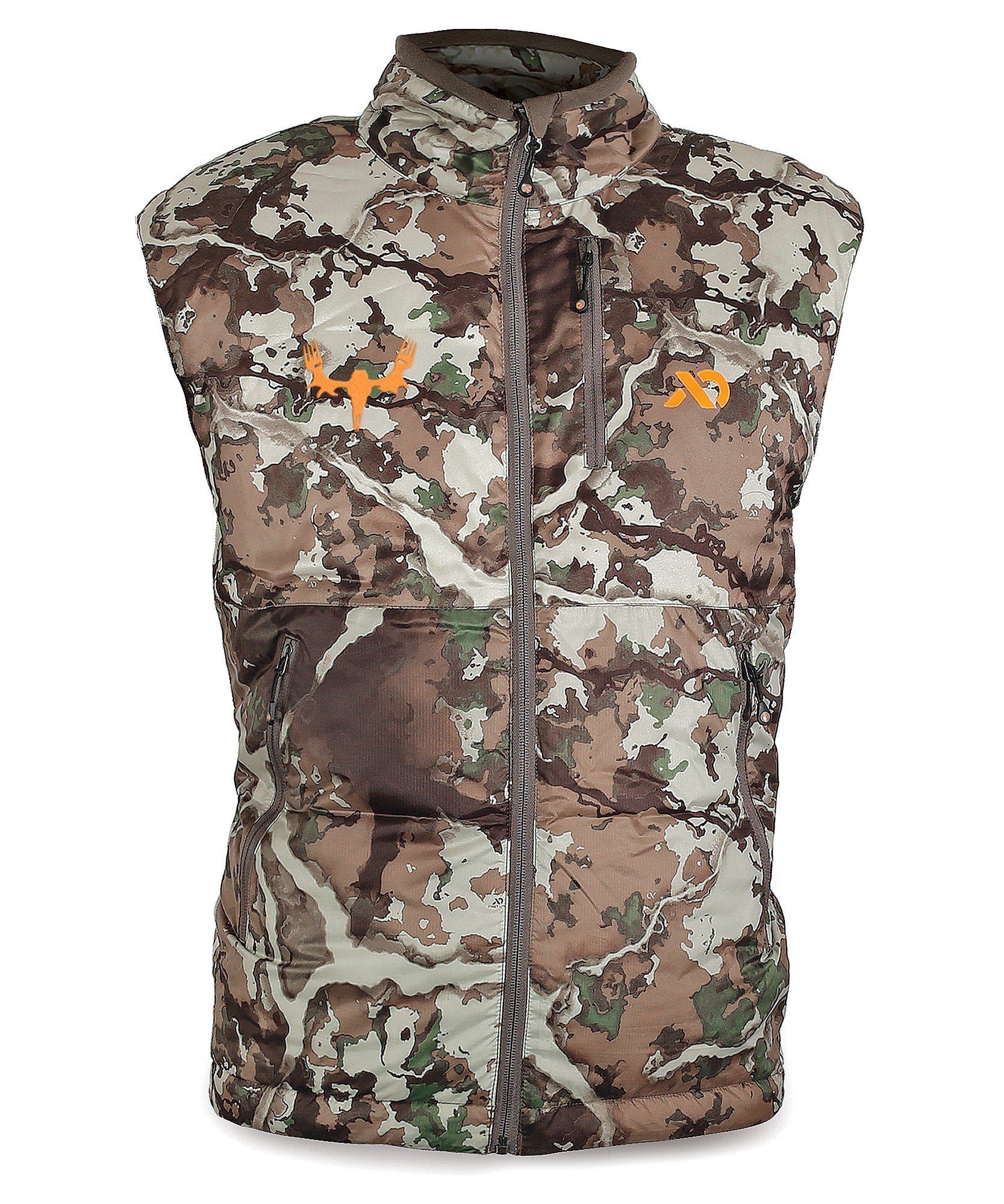 Men's Uncompahgre Puffy Vest with MeatEater logo