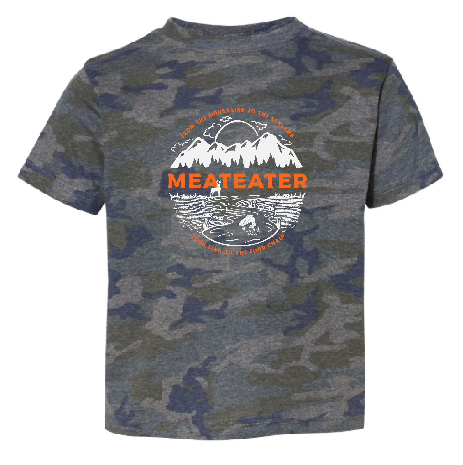 Youth Mountains & Streams T-Shirt