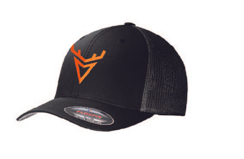 Wired to Hunt Flex Fit Logo Hat