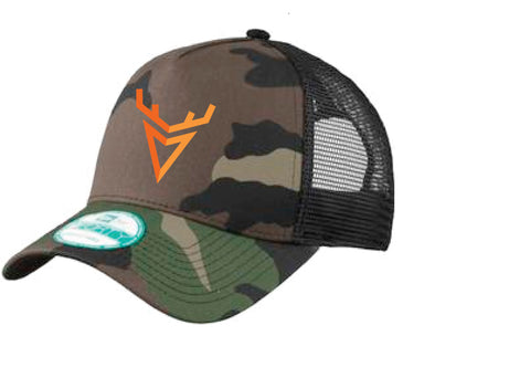 Wired to Hunt Camo Trucker Hat