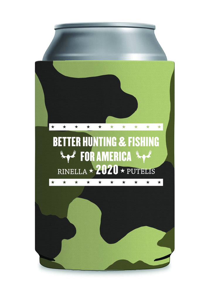 Better Hunting & Fishing Koozie