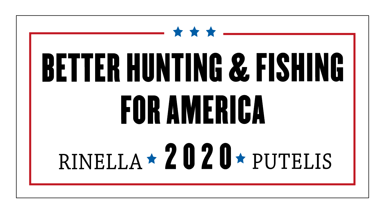 Better Hunting and Fishing Sticker