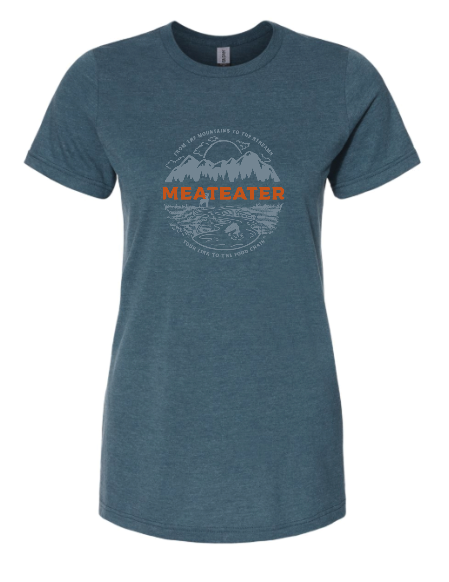 Women's Mountains and Streams T-shirt