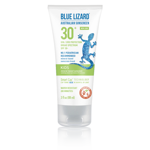 BLUE LIZARD AUSTRALIAN SUNSCREEN KIDS 3 OZ TUBE