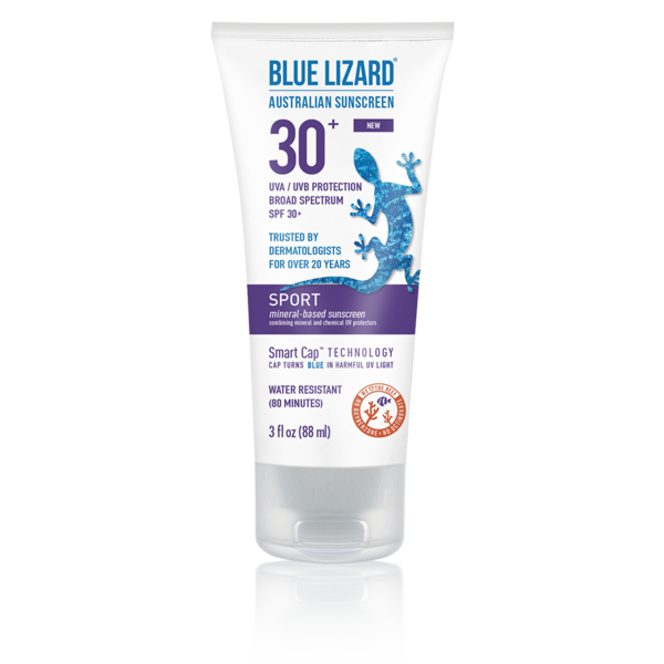 BLUE LIZARD AUSTRALIAN SUNSCREEN SPORT 3 OZ TUBE