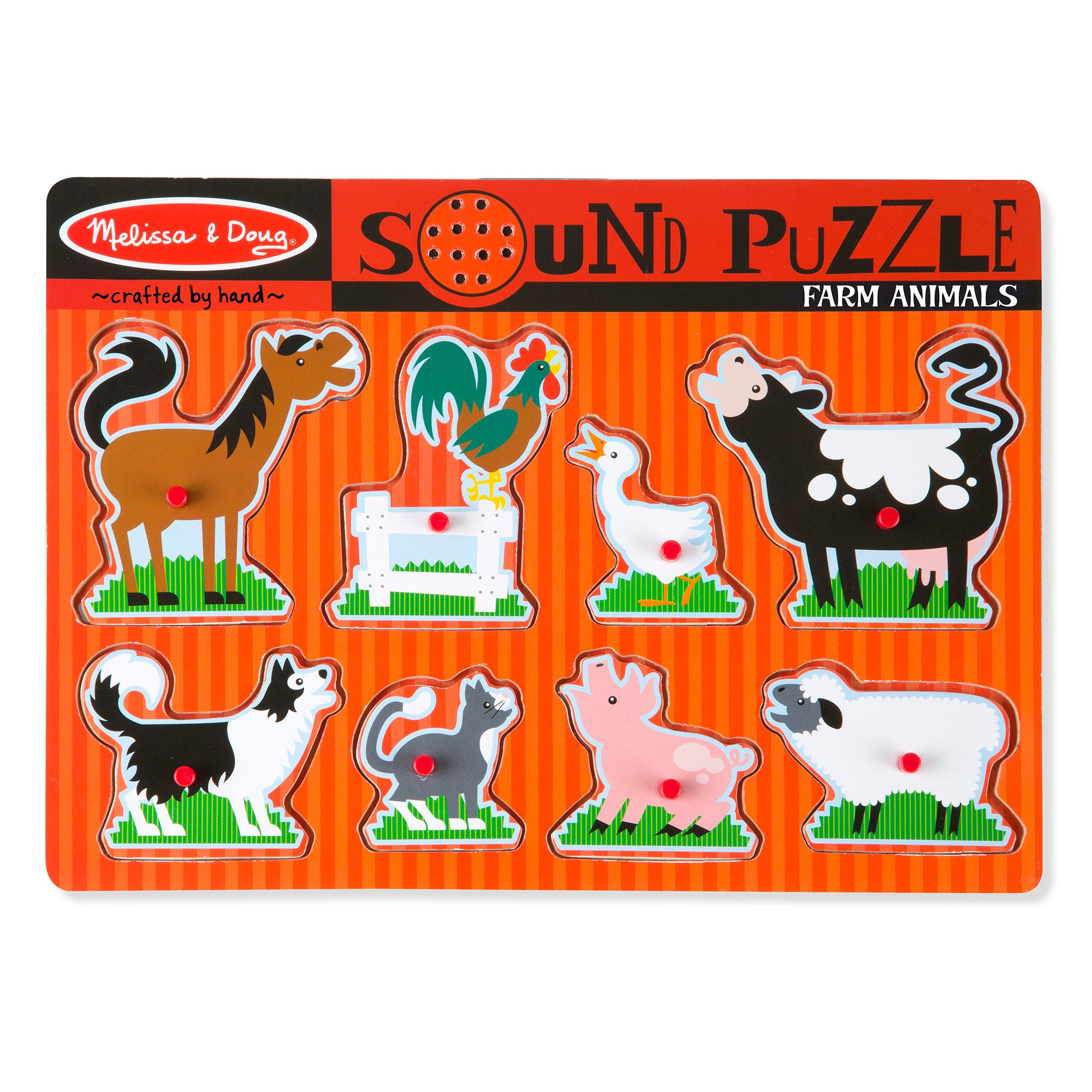 Farm Animal Sound Puzzle