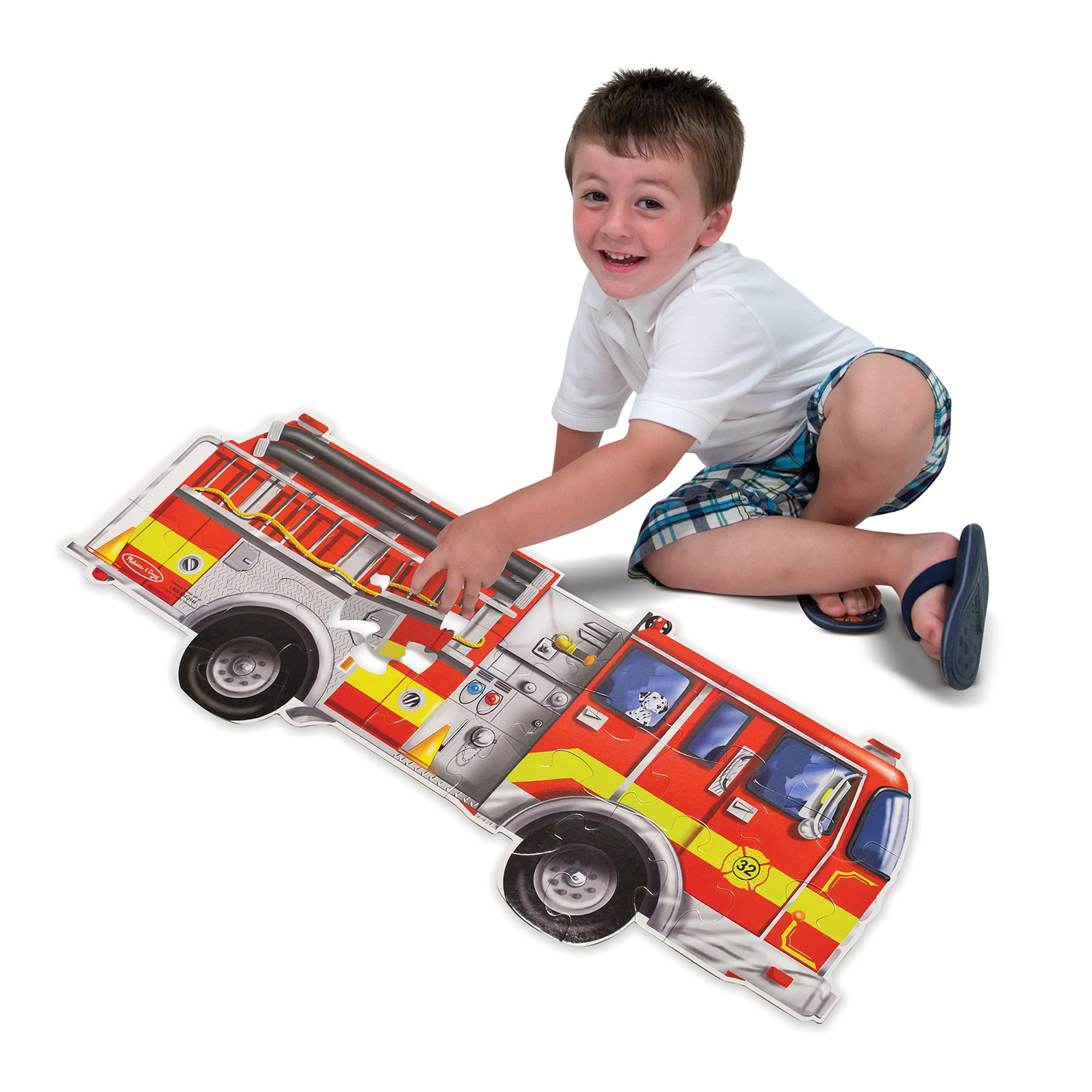 Giant Fire Truck Floor