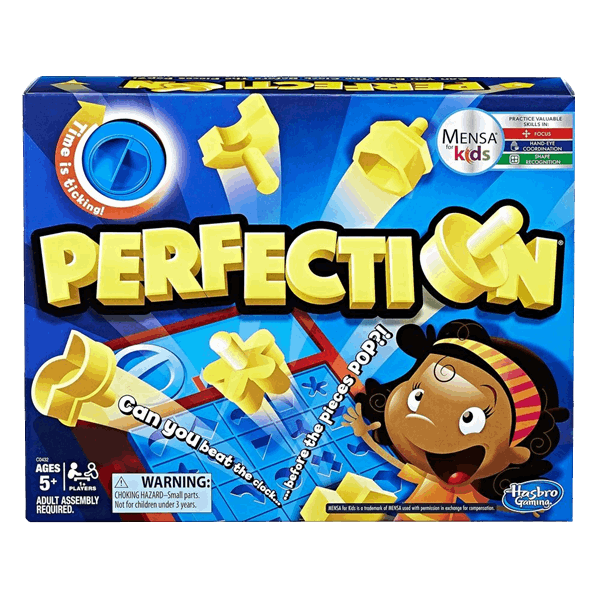 Perfection Board Game