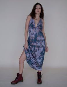 TIE DYE SLIP MAXI DRESS