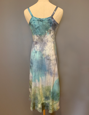 THIRD EYE TIE DYE SLIP DRESS