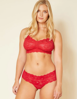 COSABELLA HOTTIE LOW RISE BOYSHORT IN MYSTIC RED