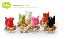 Squirrel Push Pin Holder by Qualy