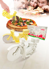 White Rider Pizza Cutter