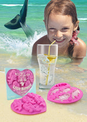 Ice Tray - Little Mermaid (Pink)