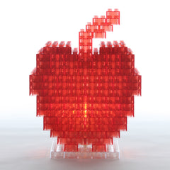 Red Apple DIY Lamp by KREATON
