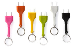 Key Ring Holder Plug by Qualy