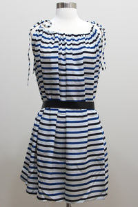 Silk Dress - Multiway Striped