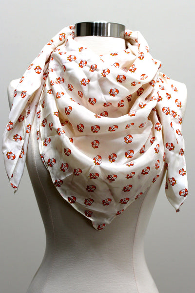 Silk Scarf - Bird