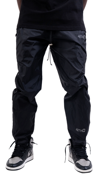 REFLECTIVE TRACK PANT - BLACK