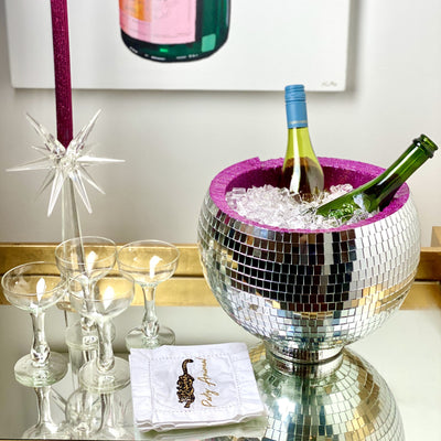 Disco Ball Ice Bucket & Punch Bowl