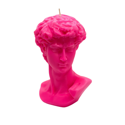 David Bust Candle