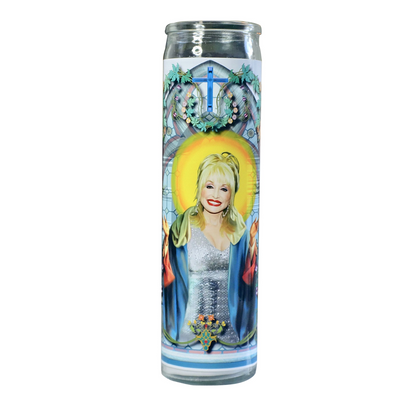 Dolly Prayer Candle