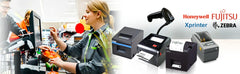 Barcode printers and scanner