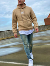 Load image into Gallery viewer, BEIGE HOODIE