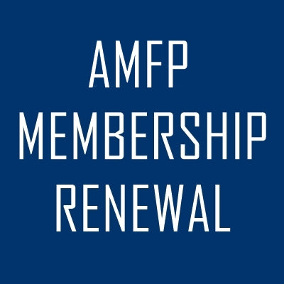 AMFP - Renewal of Annual Membership