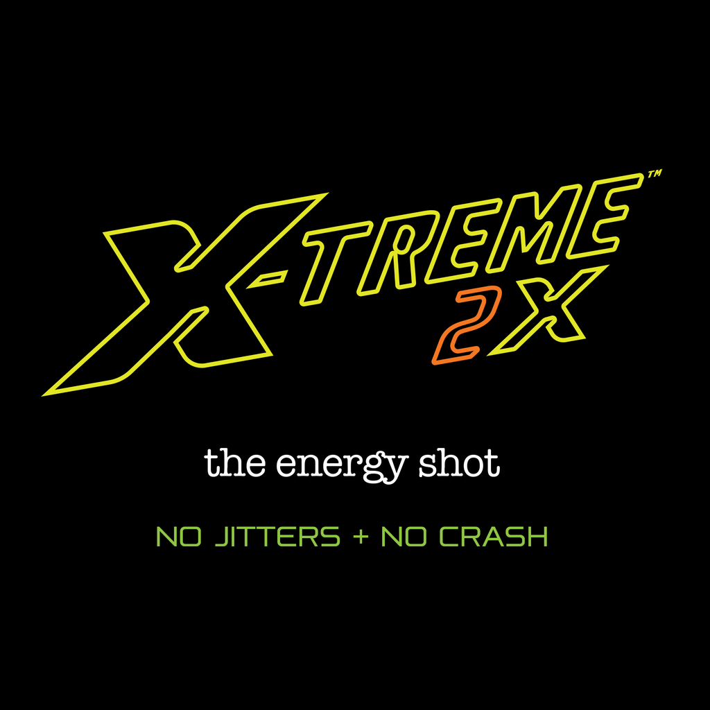 X-Treme 2X Energy Shot: 12 Pack