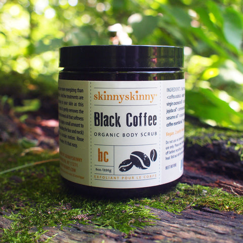skinnyskinny Organic Black Coffee Body Scrub, 8 oz.