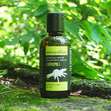 skinnyskinny's Organic Chamomile Bath and Body Oil, 4 oz bottle.