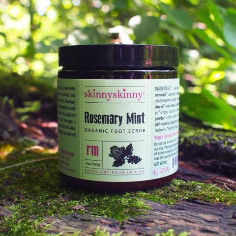 Rosemary and Mint Organic Foot Scrub