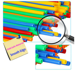 4D Building Straws (100pcs)