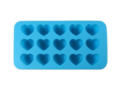 Dope Molds Silicone Gummy Mold - 15 Cavity Blue Hearts