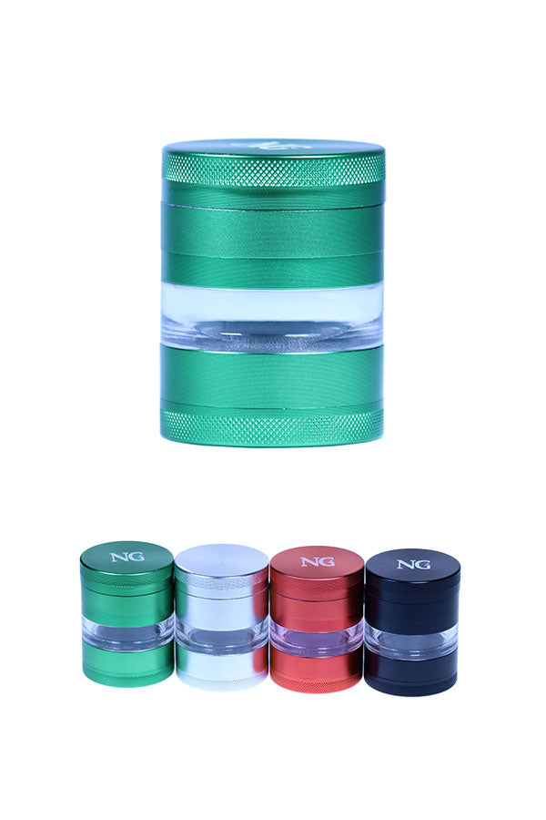 NG 4-Piece See Through Grinder