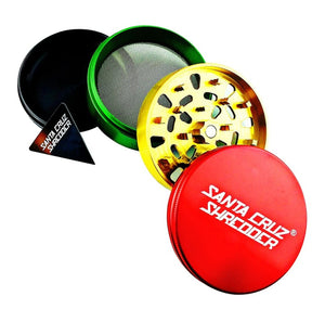 "Santa Cruz Shredder Large 4-Piece Pollinator 2.75"" - Rasta"
