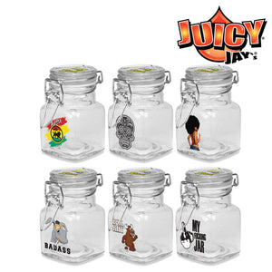 Juicy Jay's Large Glass Jars