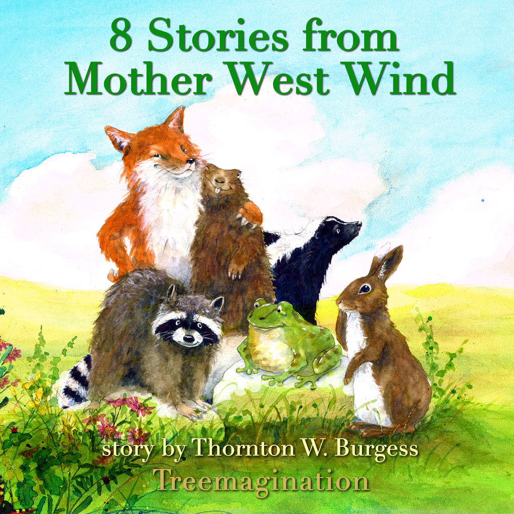(CD) Stories of Mother West Wind, Volume 1 (8 Stories) (Runtime: 79:40)