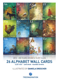 26 Alphabet Grimm's Fairy Tales Wall Cards illustrated by Daniela Drescher