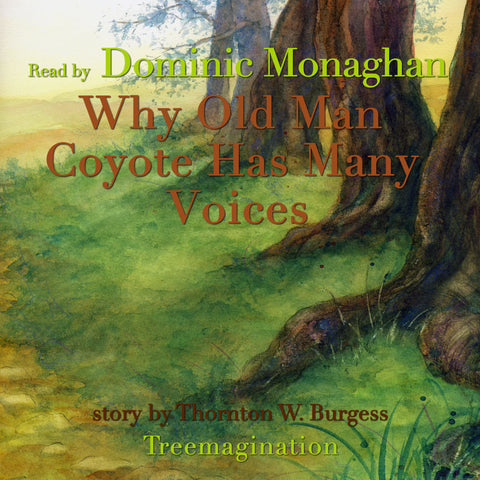 Why Old Man Coyote Has Many Voices read by Dominic Monaghan (AudioBook) (Runtime: 13:32)
