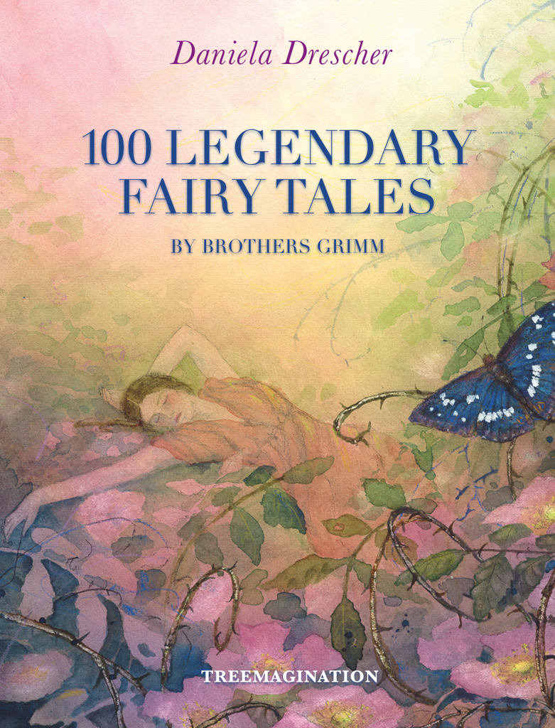 100 Legendary Fairy Tales by Brothers Grimm (PDF Digital Download)